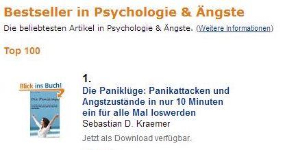 Bestseller Psychologie und Ängste