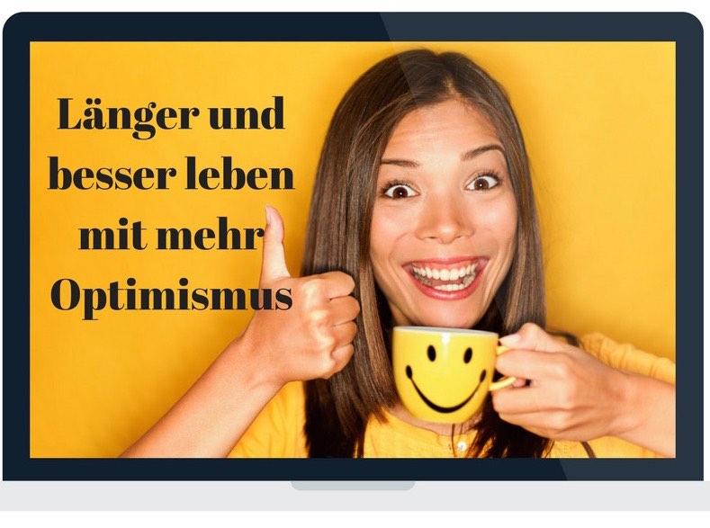 Cover Videoschulung Länger und besser leben mit mehr Optimismus