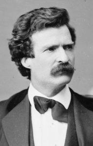 Habe viele Katastrophen erlebt Mark Twain