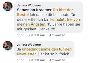 Kundenmeinung Janina